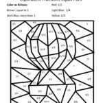 6 Best Images Of Simplifying Fractions Coloring Worksheet