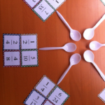 Equivalent Fractions Game Of Spoons Math Fractions