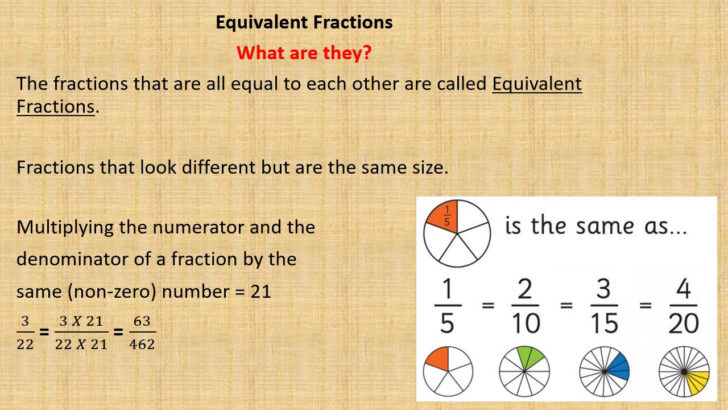 How Do You Figure Out Equivalent Fractions