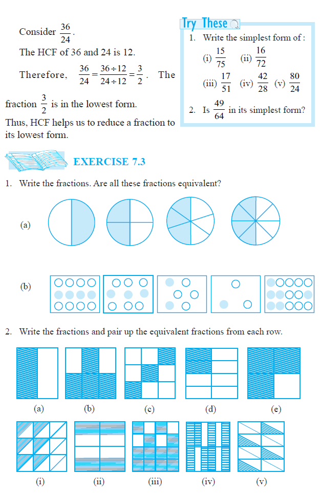 7/9 Equivalent Fractions