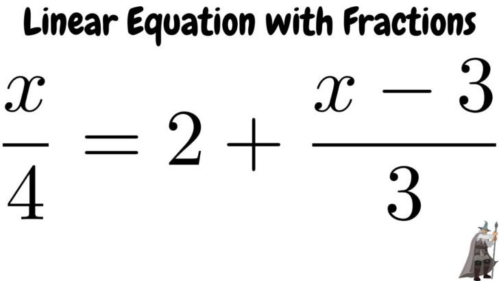 Solve For X Equivalent Fractions