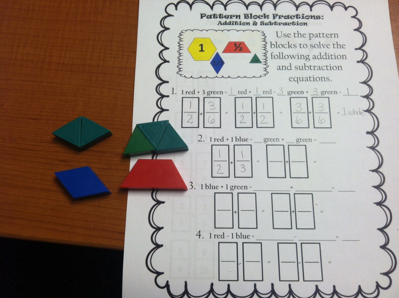 Teaching With A Mountain View Our Latest Fraction Projects