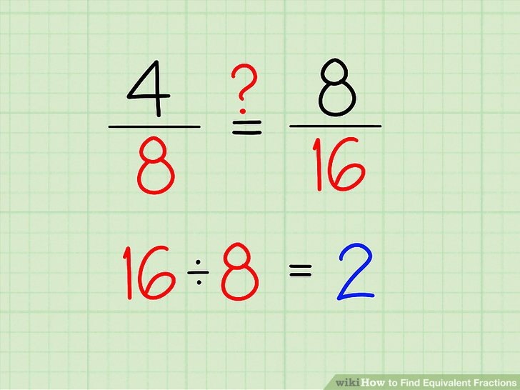 3 Equivalent Fractions For 3/8