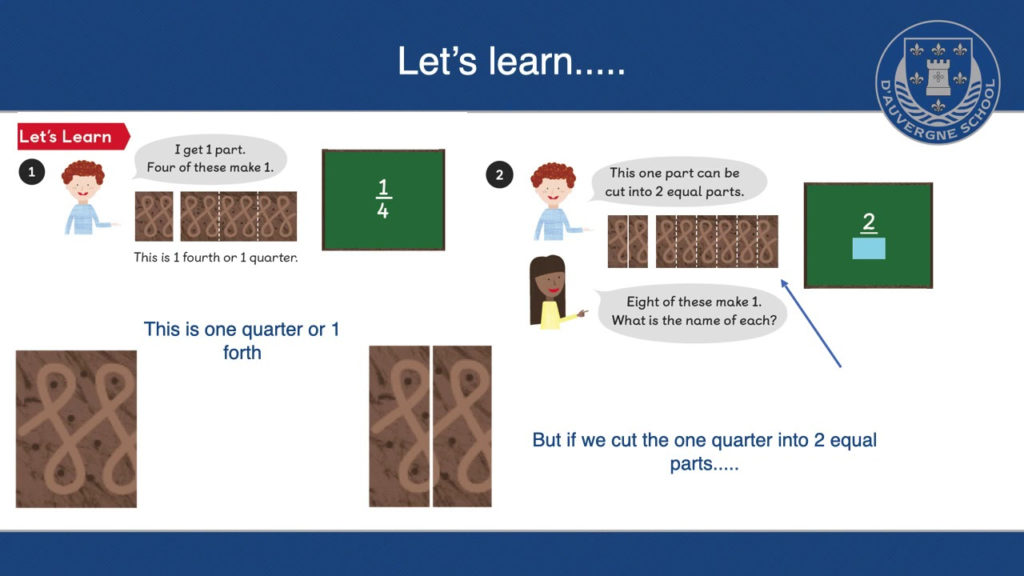 Year 3 Lesson 5 Finding Equivalent Fractions YouTube